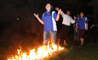 Fire Walk Jogja
