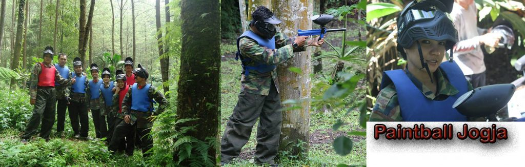 Paket Outbound Jogja dan Paintball