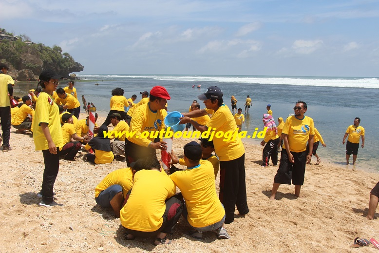outbound pantai sundak