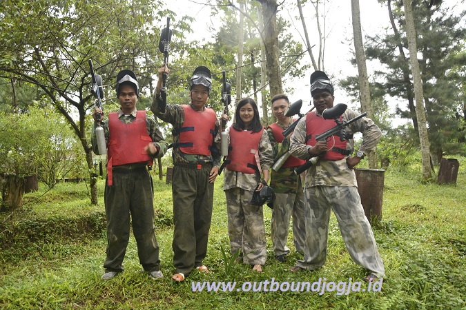 paintball kaliurang jogja
