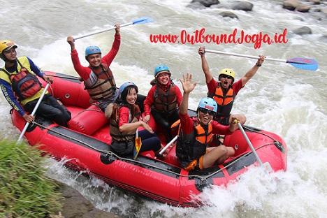 Rafting Magelang Murah Outbound Jogja, Paket Outbound Jogja, Tempat Outbound di Jogja