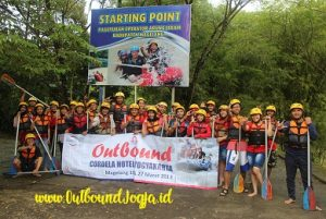 Rafting Sungai Elo Outbound Jogja, Paket Outbound Jogja, Tempat Outbound di Jogja