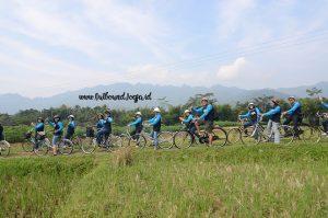 Wisata Sepeda Borobudur Outbound Jogja, Paket Outbound Jogja, Tempat Outbound di Jogja