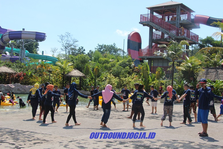 Outbound Jogja Bay