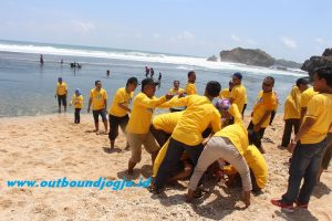 outbound pantai jogja