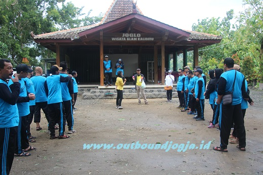 outbound kalibiru jogja