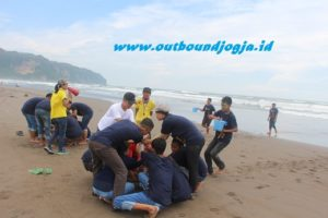 outbound pantai glagah