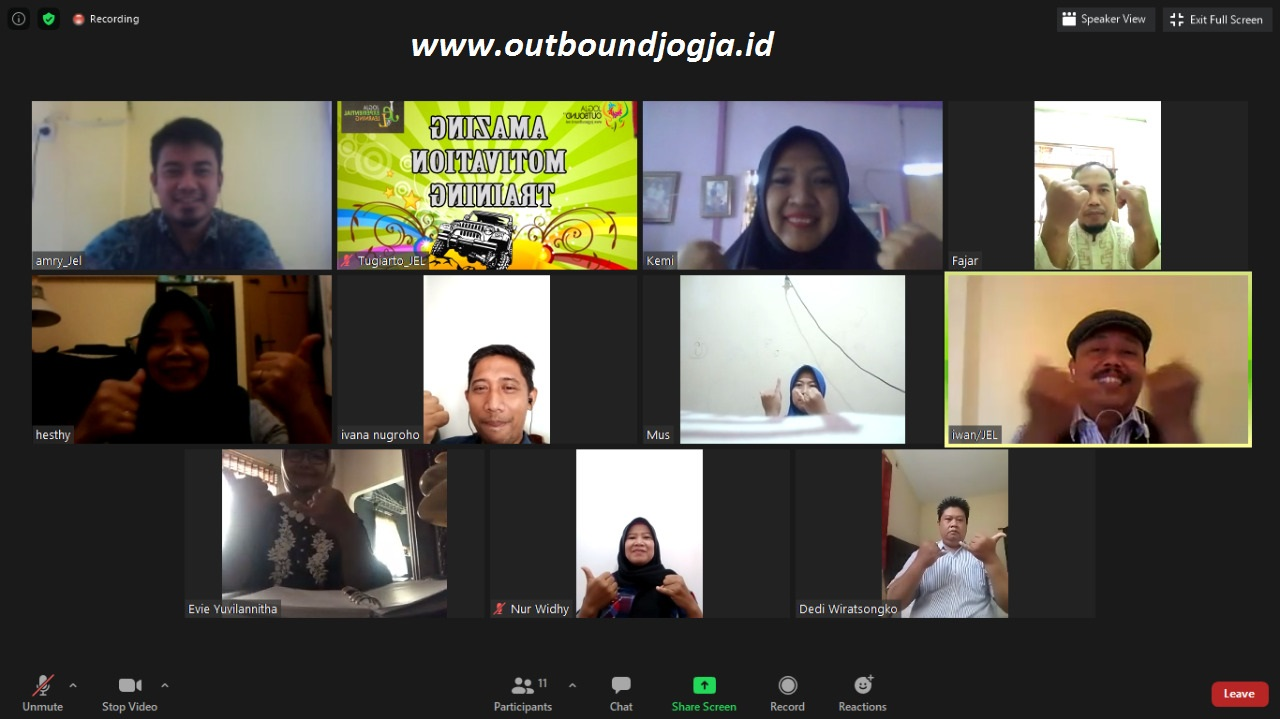 Virtual Online Outbound
